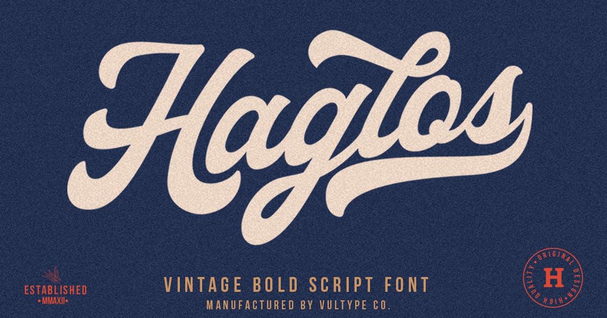 Download Haglos Bold Script by vultype