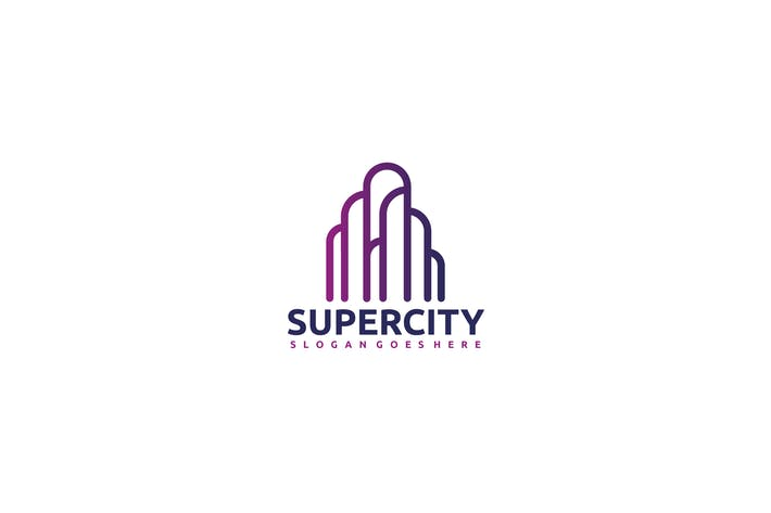 Thumbnail for Super City Logo