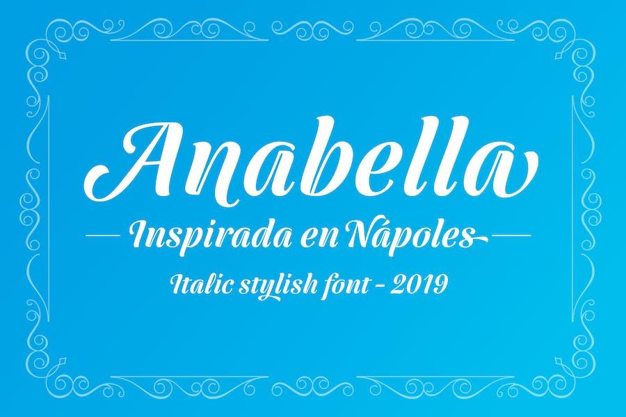 Anabella Italic