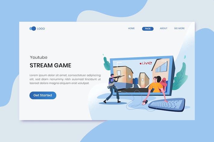 Thumbnail for Stream Spiele Youtube Marketing Zielseite