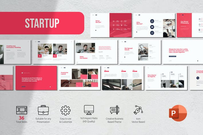 Thumbnail for Start Up Powerpoint Presentation