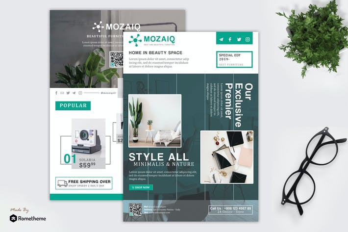Thumbnail for Mozaiq - Product Promotion and Sale Flyer HR