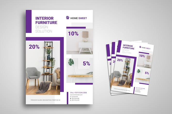 Thumbnail for Interior Furniture Promo Flyer