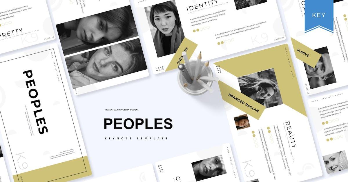 Download Peoples | Keynote Template by Vunira