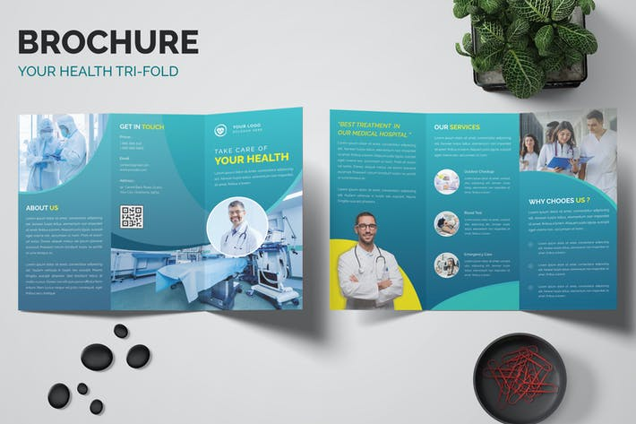 Thumbnail for Medicine Trifold Brochure