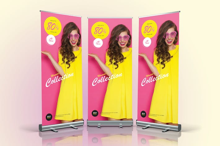 Thumbnail for Fashion Sale Roll Up Banner 05