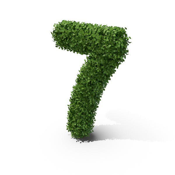 Thumbnail for Hedge Shaped Number 7