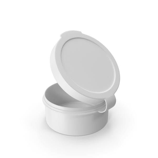 Таблетки Pod Шарнир Топ 1/2 унции Открытый Белый