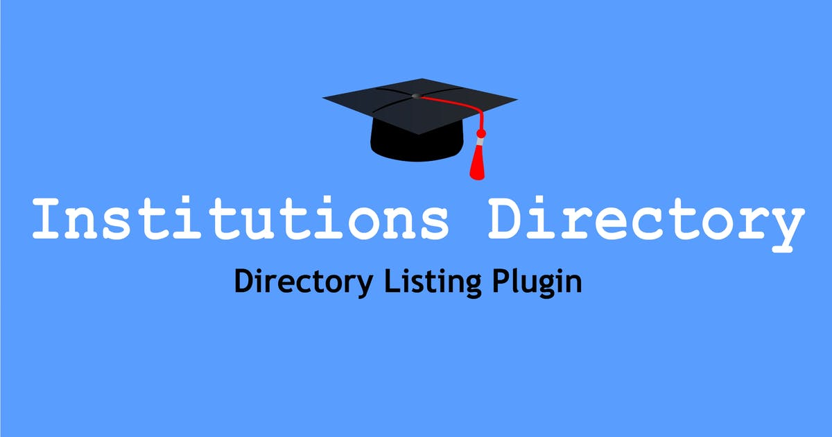 Download Institutions Directory by e-plugins