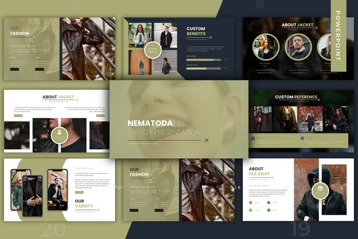 Thumbnail for Nematoda - Powerpoint Template