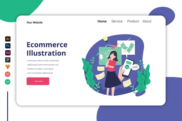 Ecommerce - Landing Page