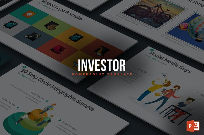 Thumbnail for Investor Powerpoint Template