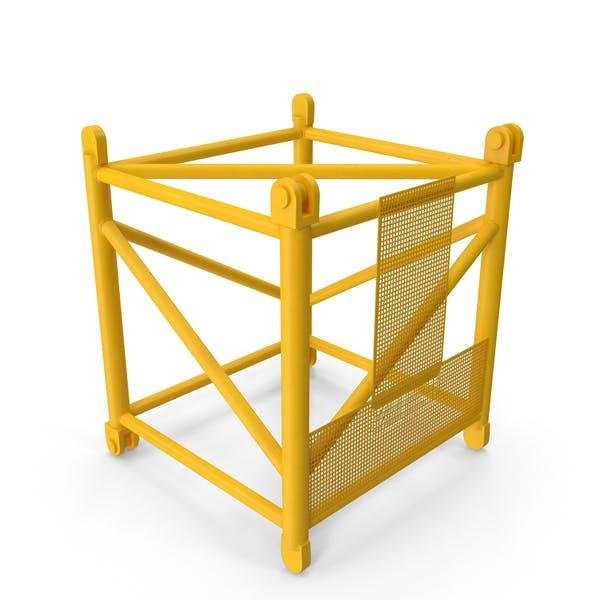 Кран S Промежуточный раздел 3м Желтый