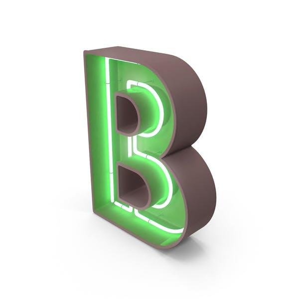 Thumbnail for Неоновая буква B