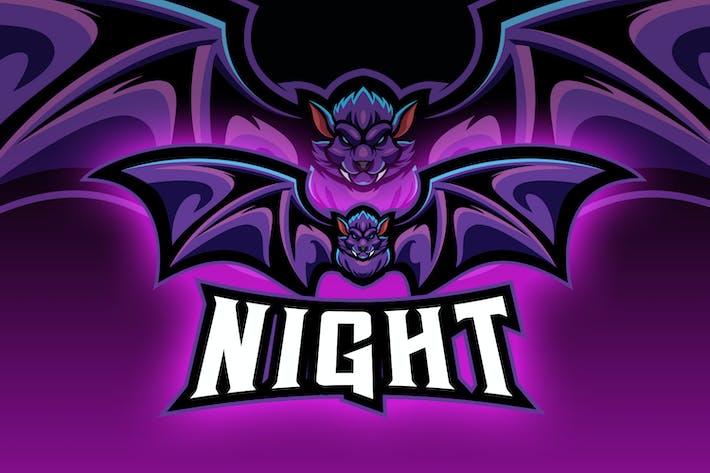Thumbnail for Big Fangs Bat Esport Logo