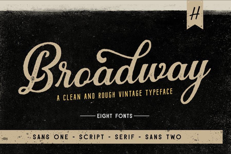 Broadway   Font Pack