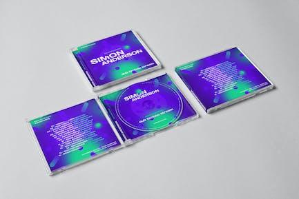 Music CD / Digital Cover Artwork Template