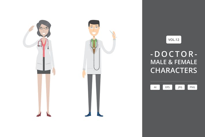 Thumbnail for Doctor - Male & Female Characters Vol.12