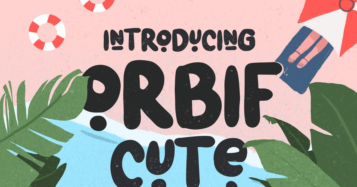 Download Orbif Cute Typeface by Flavortype