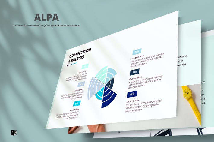 Thumbnail for Alpa Powerpoint Template
