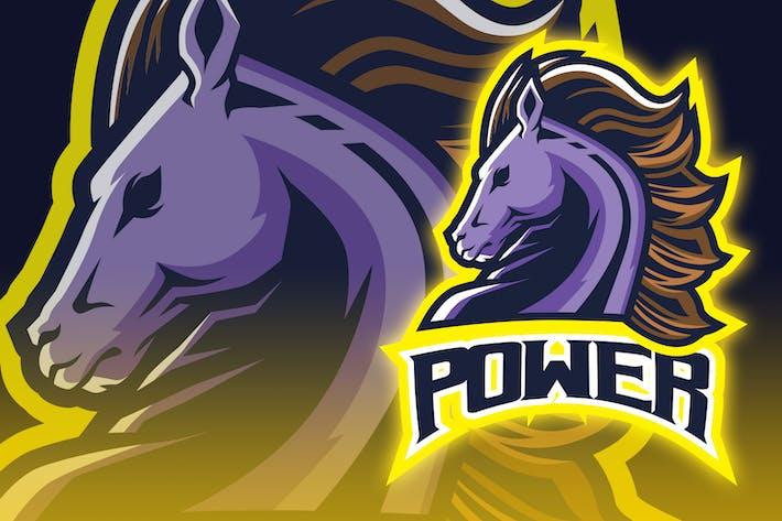 Thumbnail for Look Back Horse Esport Logo