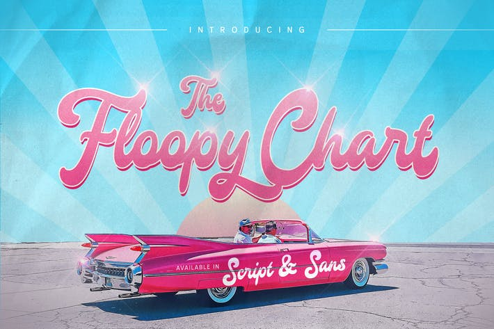 Thumbnail for Floopy Chart Font Duo