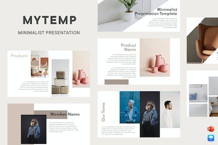 Mytemp - Minimalist Presentation v3