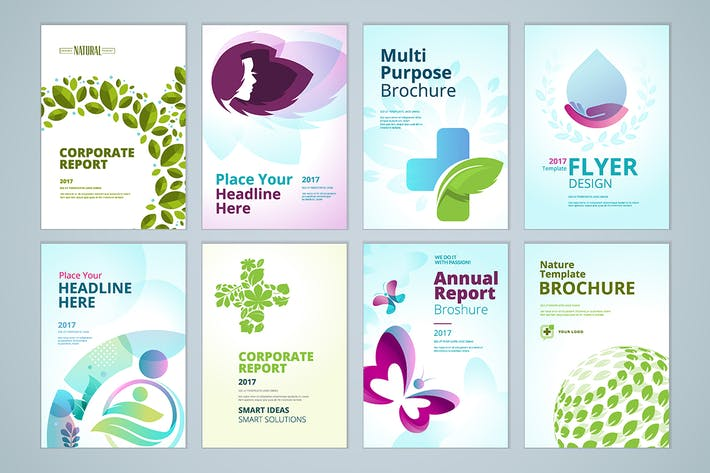 Thumbnail for Healthcare and natural product brochure collection