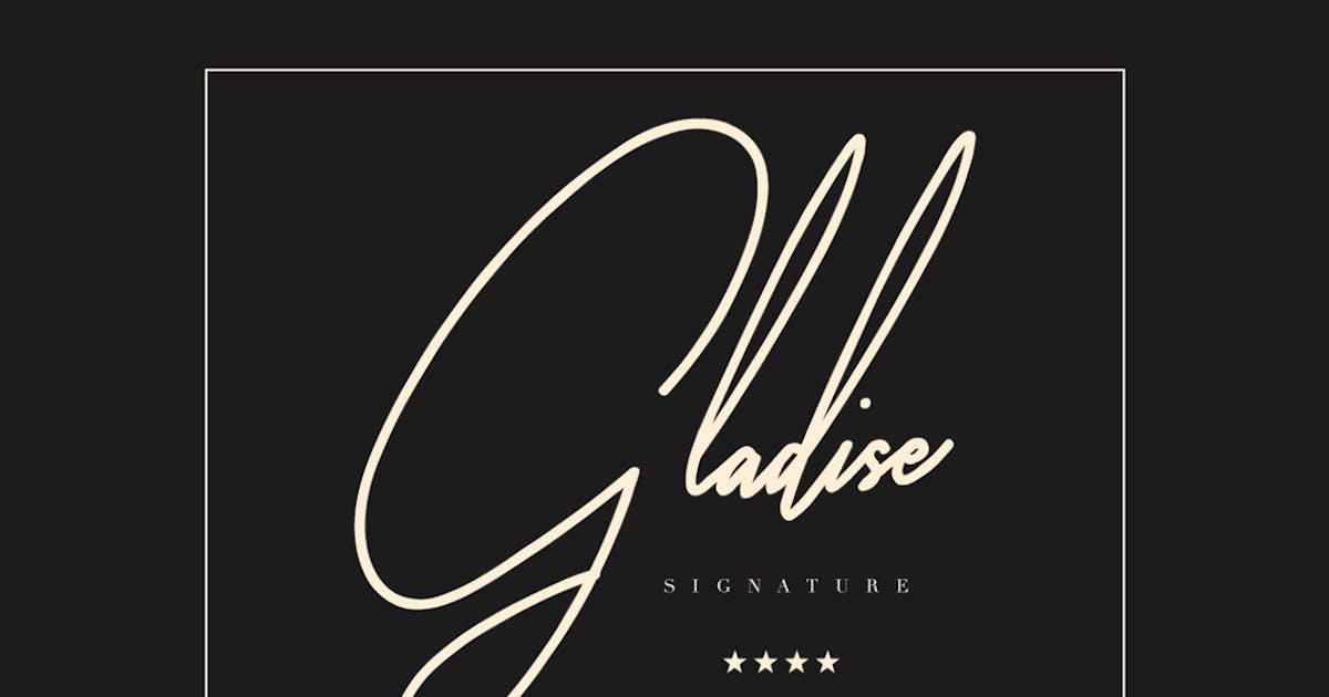 Download Gladise Typeface by maulanacreative