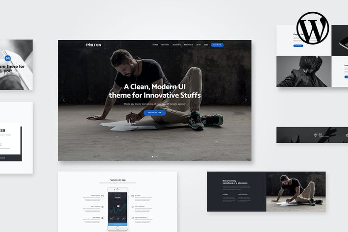 Thumbnail for Milton | Multipurpose Creative WordPress Theme