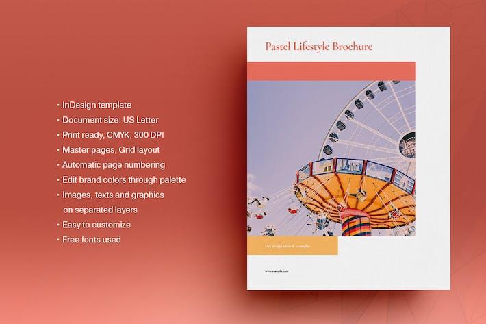 Pastel Lifestyle Brochure