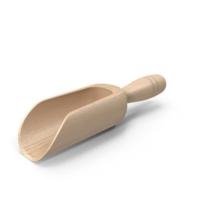 Wood Scoop