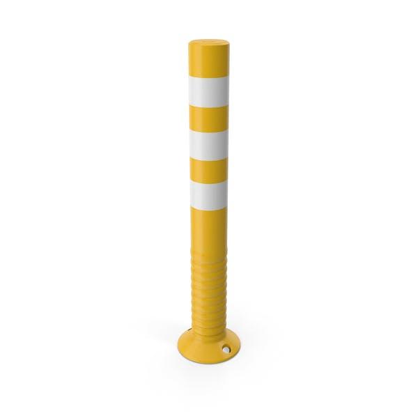 Traffic Post Yellow