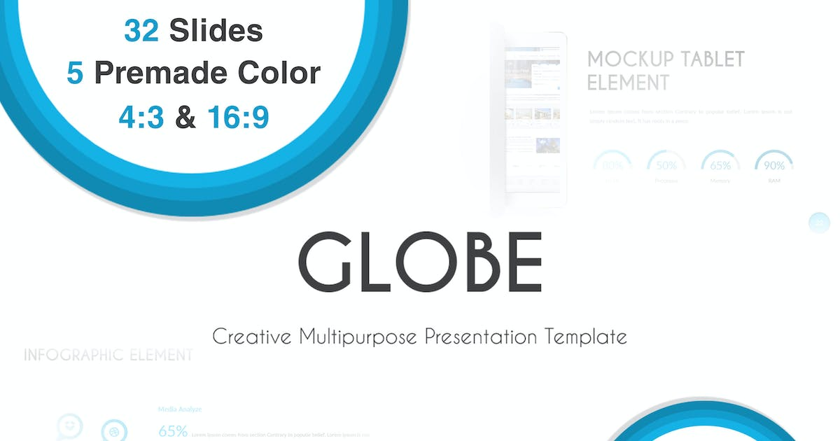 Download Globe - Powerpoint Template by Unknow
