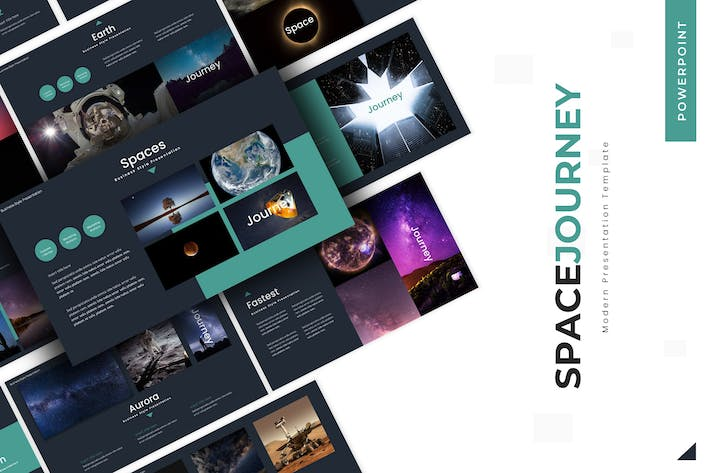 Thumbnail for Space Journey - Keynote Template