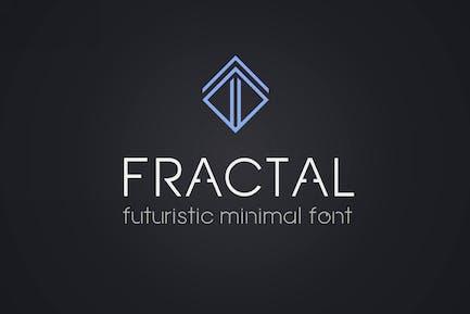 Fractal. Futurista fuente