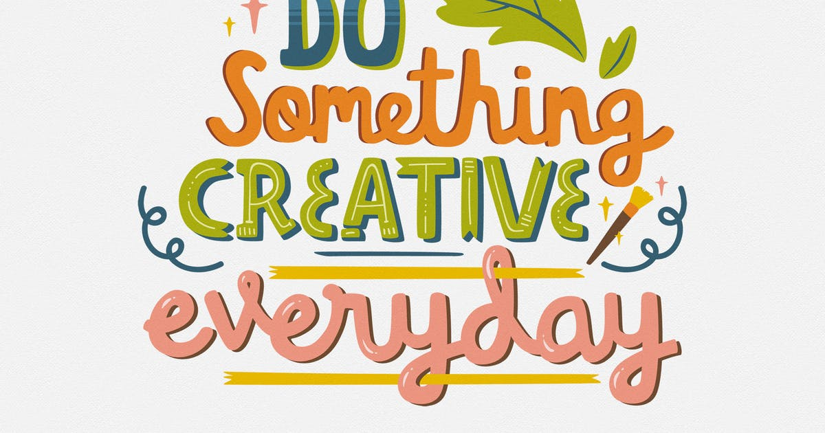 Download Quote - Do Something Creative Everyday by telllu