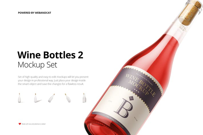 Thumbnail for Wine Bottle Mock-up 2