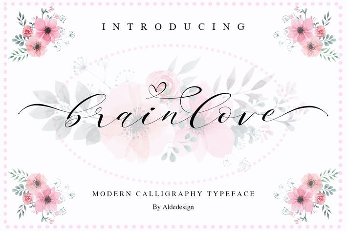 Thumbnail for Brainlove - Beautiful Modern Calligraphy