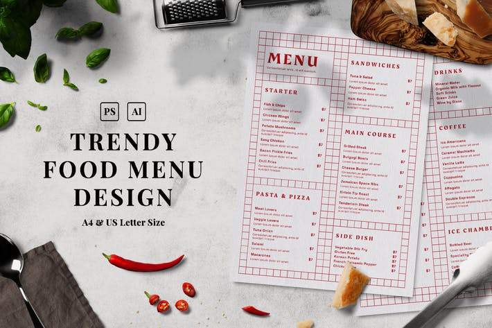 Thumbnail for Menu Alimentaire Tendance