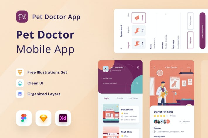 Thumbnail for Haustier Arzt Mobile App