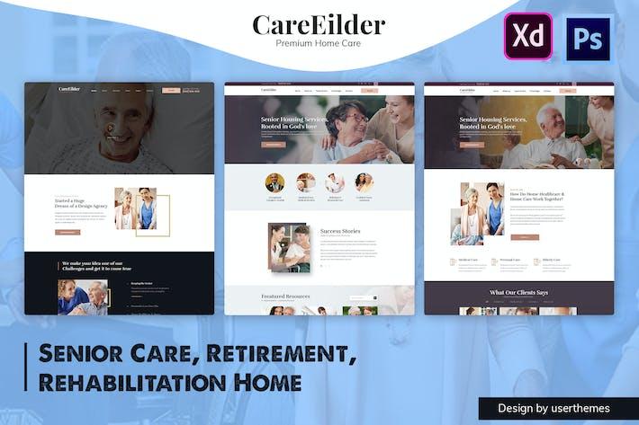 CareEilder - Senior Care & Medical PSD Template