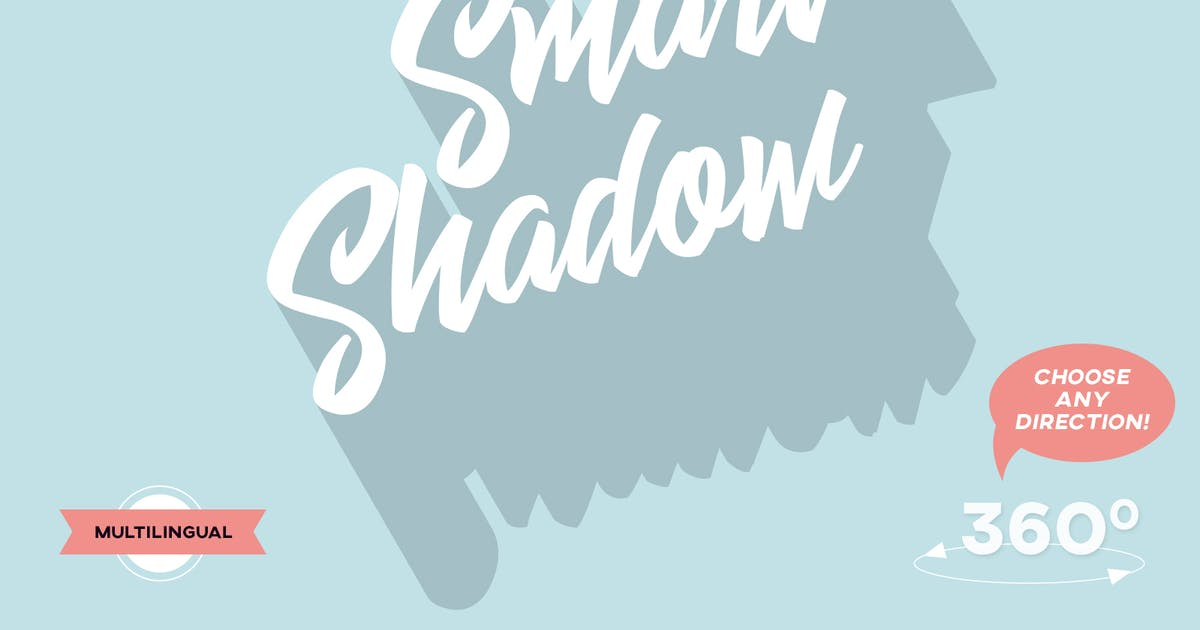 Download Smart Shadow - Photoshop Action by Sko4