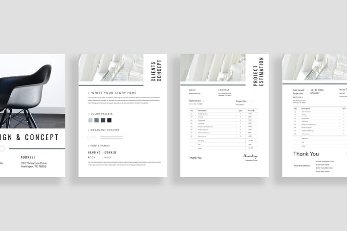 Thumbnail for Project Brief - Estimation - Invoice Vol. 08