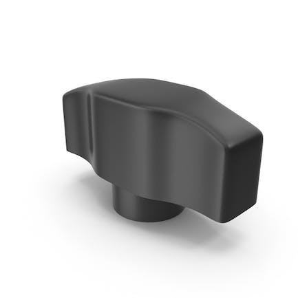 Kunststoff-Flügelschraubenkopf