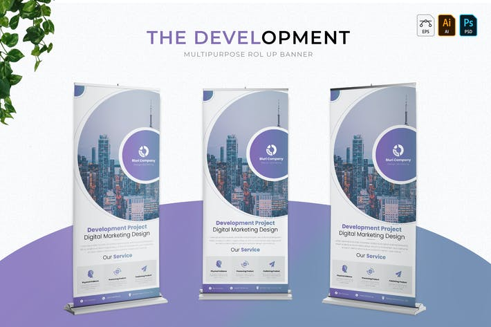 Thumbnail for Development Banner | Roll Up Banner