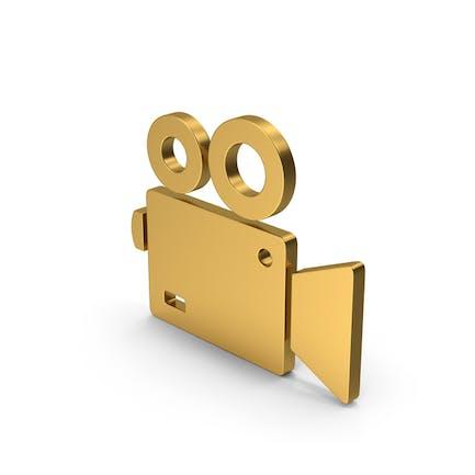 Symbol Video Camera Gold