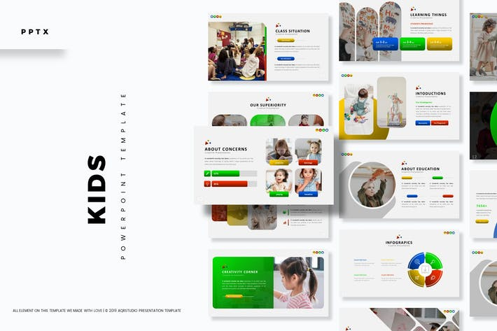 Kids - Powerpoint Template
