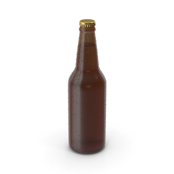 Beer Bottle No Label