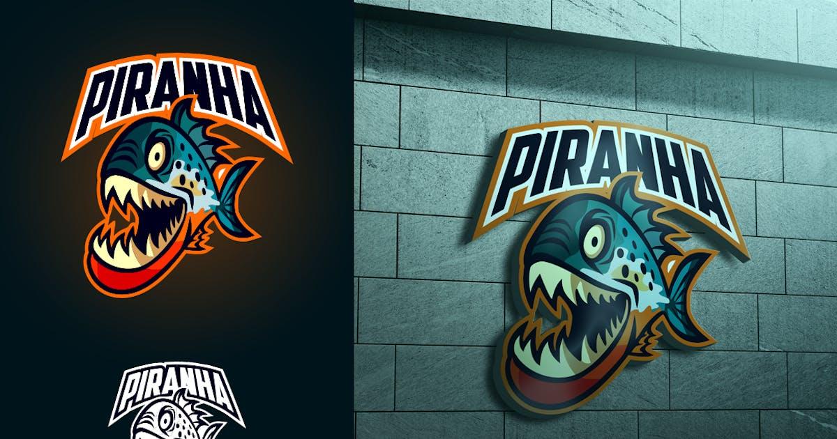 Download Piranha Mascot Esports or Sports Logo by Suhandi